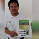 Fernando Bautista Arriaga Biólogo de la Biosfera de reserva del Volcán Tacaná Foto: Diario del Sur