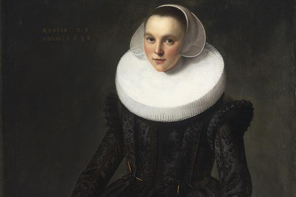 MUJER DE 25 años, 1632, Frans Pietersz de Grebber.