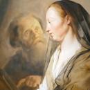 PARÁBOLA DE la viuda y el juez injusto, 1628, Pieter de Grebber.