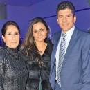 JEANNE KHOURY con Viviana y Alberto Said.