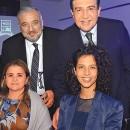 TALINE TABCHI, Lizet Pérez, Nabil Tabchi y Manuel Pérez.