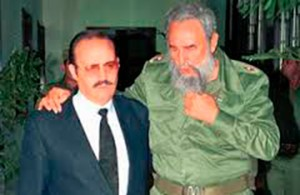 Don Mario Vázquez Raña entrevistó a Fidel Castro