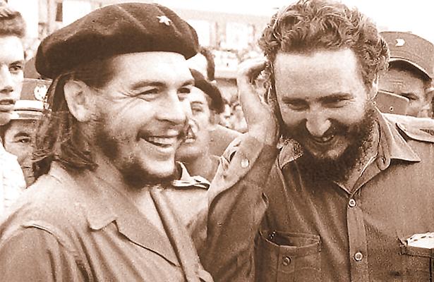 Con el Che Guevara