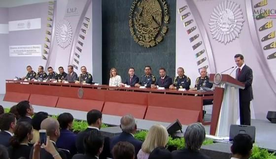 Estado Mayor Presidencial, pilar en tareas del Ejecutivo: EPN