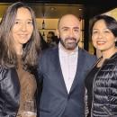 CLAUDIA ANTE, Juan José Tavera y Samira Porras.