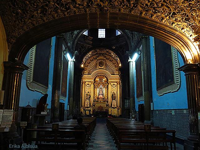 Interior de San Cristóbal. Foto: Erika Albisúa