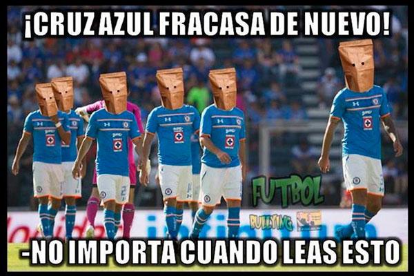 Los memes no perdonan las derrotas del Cruz Azul