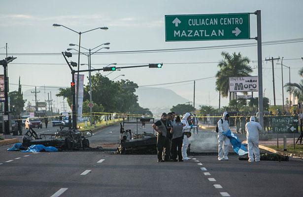 Gente cercana a El Chapo atacó a militares en Culiacán: Sales Heredia