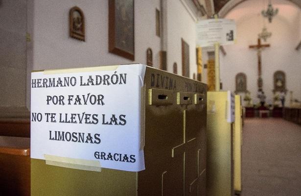 [Video] Ante robos, parroquias recurren a videovigilancia