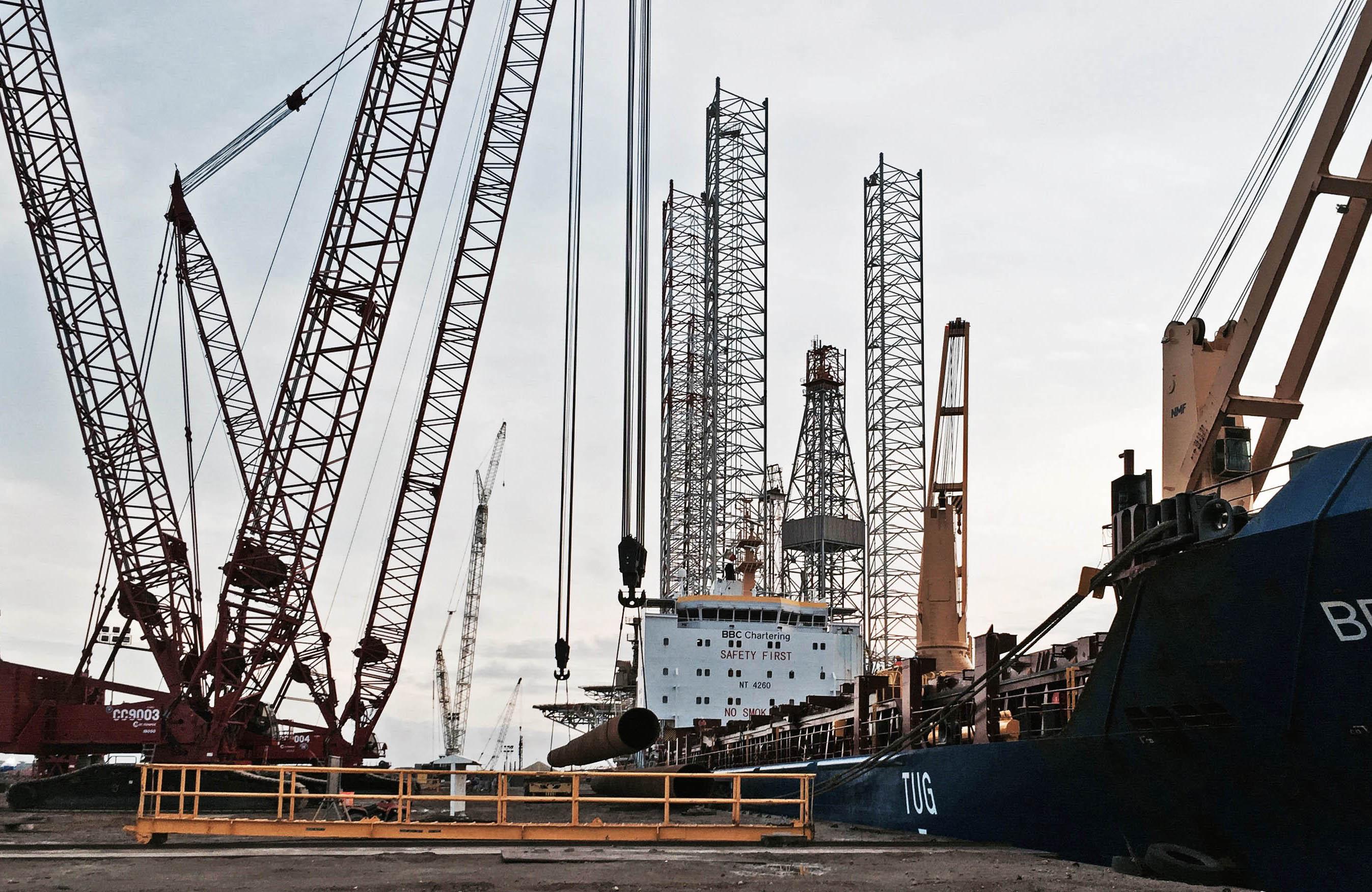 Construirán en Altamira gasoducto trasnacional Brownsville-Altamira-Tuxpan