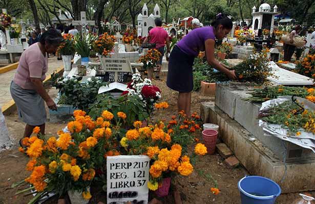 Los panteones más visitados en Día de Muertos