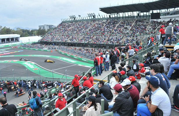 Así se vivió el primer día de la F1 en la CDMX