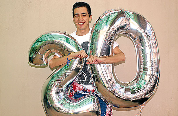 Miguel Ángel festejó en grande sus 20 años