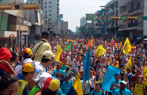 Se moviliza la oposición contra el presidente Maduro en Venezuela