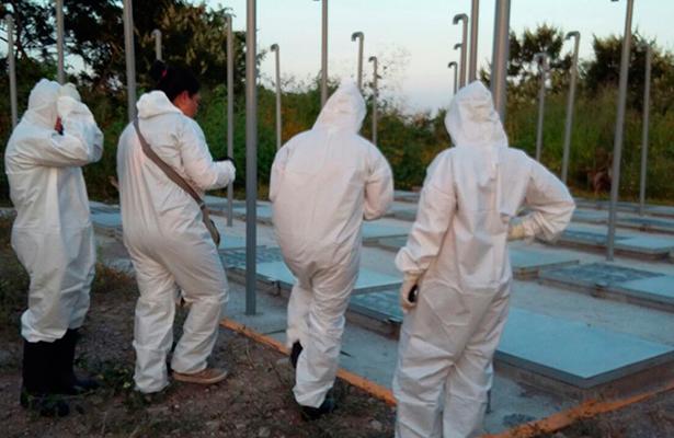 Despiden a Israel Hernández después de exhumarlo en Tetelcingo