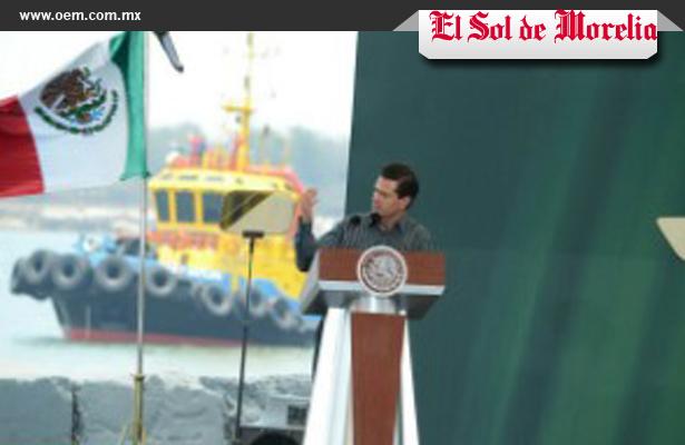 EPN presenta ocho puntos para poner en marcha primer Zona Económica Especial