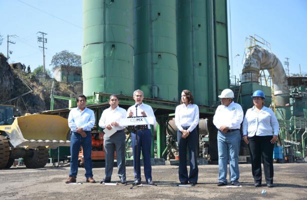 Planta de Asfalto de la CDMX se moderniza para ser un espacio amigable con el medio ambiente