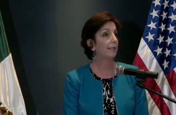 Llega embajadora de Estados Unidos en México, Roberta Jacobson