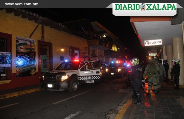Policía Federal y Ejército realizaron operativo en diversos bares