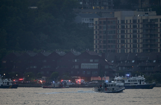 El avión que cayó al río Hudson participaba en actividades de Fleet Week