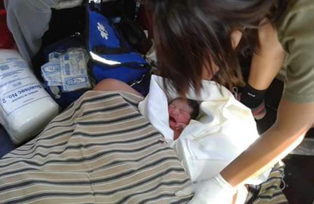 Nace bebé en helicóptero de la Armada al llevar a la mamá a BCS