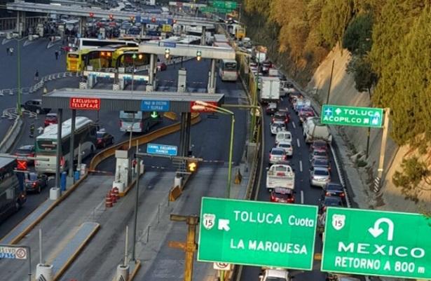 Restablecen circulación en la Carretera México-Toluca