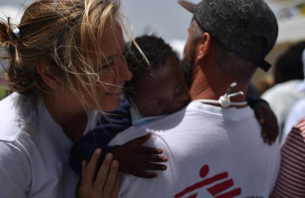 Naufragios de migrantes en el Mediterráneo