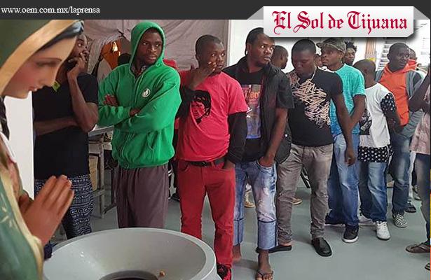 Prenden focos rojos en Tijuana por más de 400 migrantes africanos que buscan cruzar a Estados Unidos