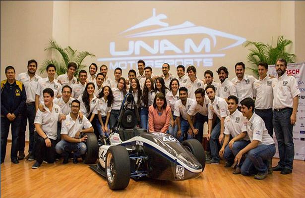 Competirá Escudería de la UNAM en serial de automovilismo Fórmula SAE
