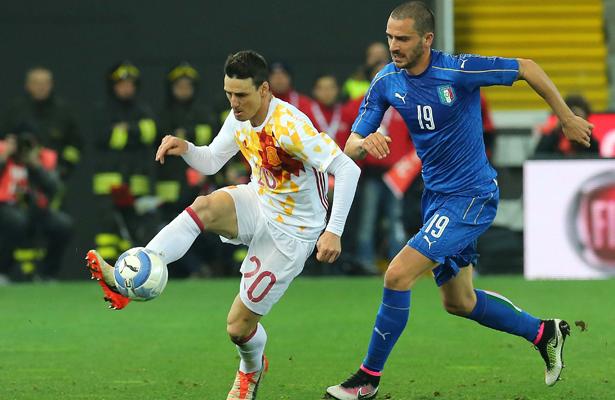 Italia deja en el camino al Bicampeón España