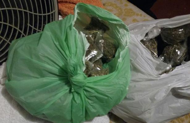 PGJEM desmantela punto de venta de droga en el municipio de Nezahualcóyotl