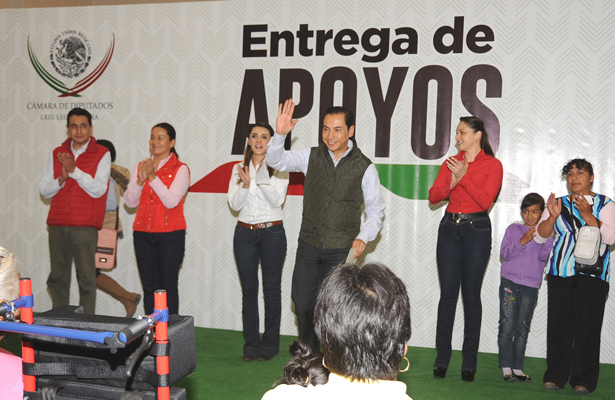 PRI genera condiciones para que grupos vulnerables mejoren calidad de vida: Carlos Iriarte