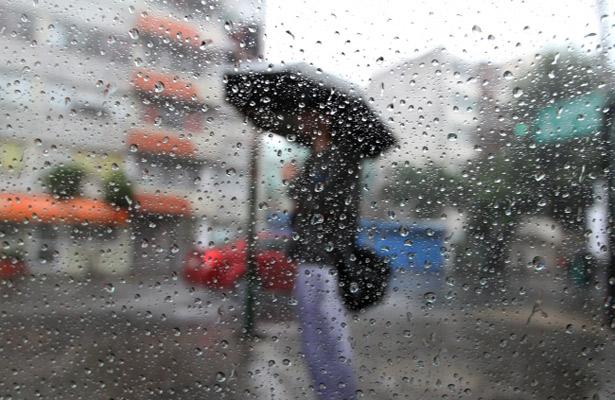 Afectarán lluvias con chubascos el valle de México