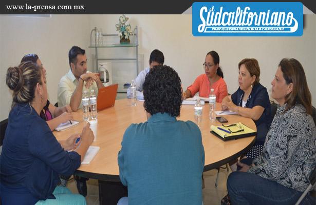 Supervisan avances en acciones de prevención de delito en La Paz