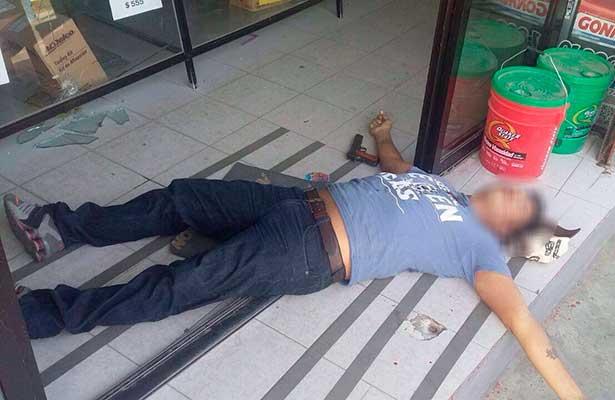 Policía frustra asalto y mata delincuente