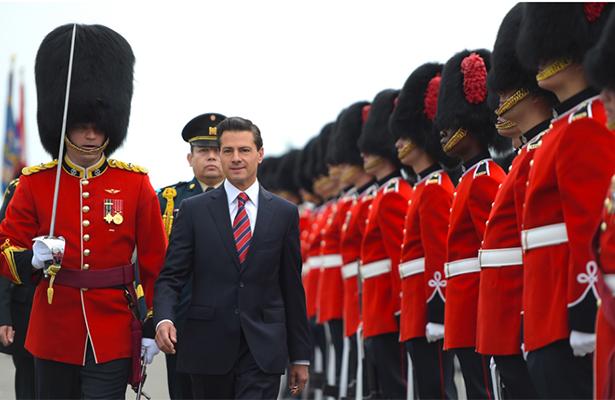 Invita el Presidente Peña Nieto a inversores canadienses