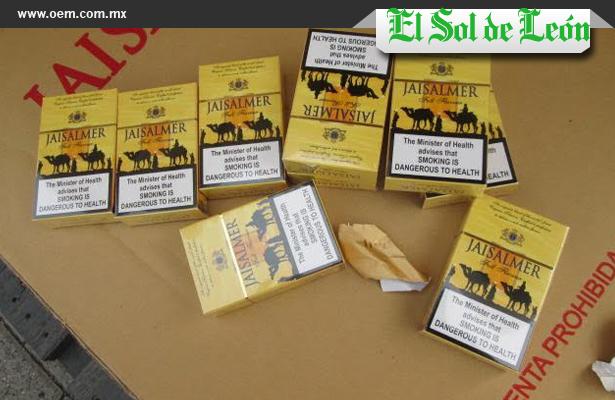 Decomisan cigarros en Guanajuato: Secretaría de Salud Local