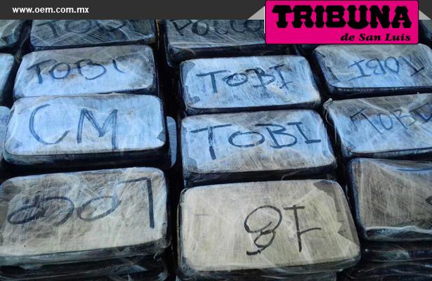 Millonaria incautación de droga en Sonora: SEDENA