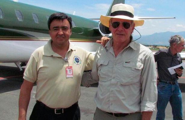 Arriba Harrison Ford a Oaxaca