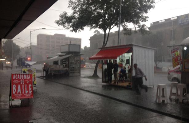 Intensa lluvia