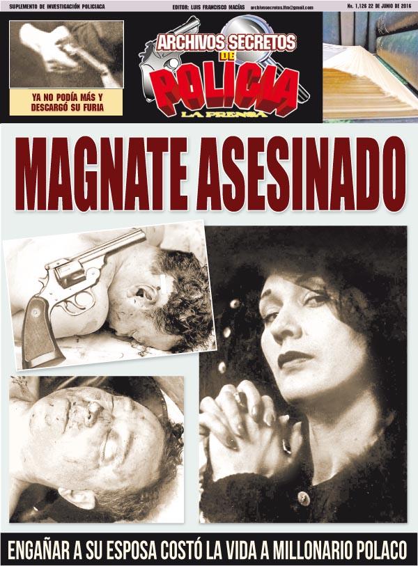 MAGNATE ASESINADO
