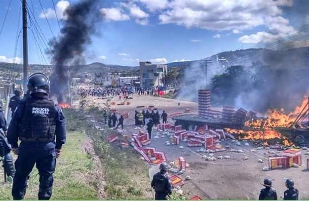 Inicia la unidad de asuntos internos de la CNS hechos ocurridos en Oaxaca