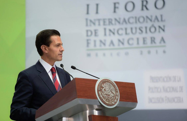 Peña Nieto presentó la Política Nacional de Inclusión Financiera