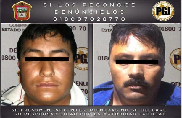 Acusados de asesinar a policías en el Edomex
