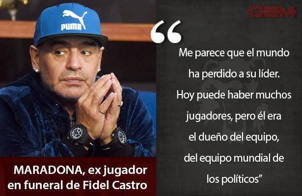 Lo dijo así Maradona