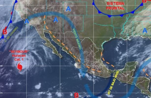 Sin afectar México, huracán Seymour se debilita a categoría 1