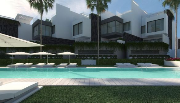New Development of terraced houses in Estepona