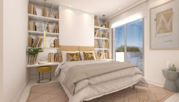 New Development of apartments in Benalmádena