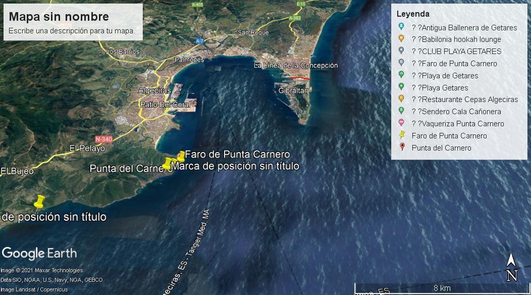 Finca rústica en Algeciras, Punta Carnero, venta