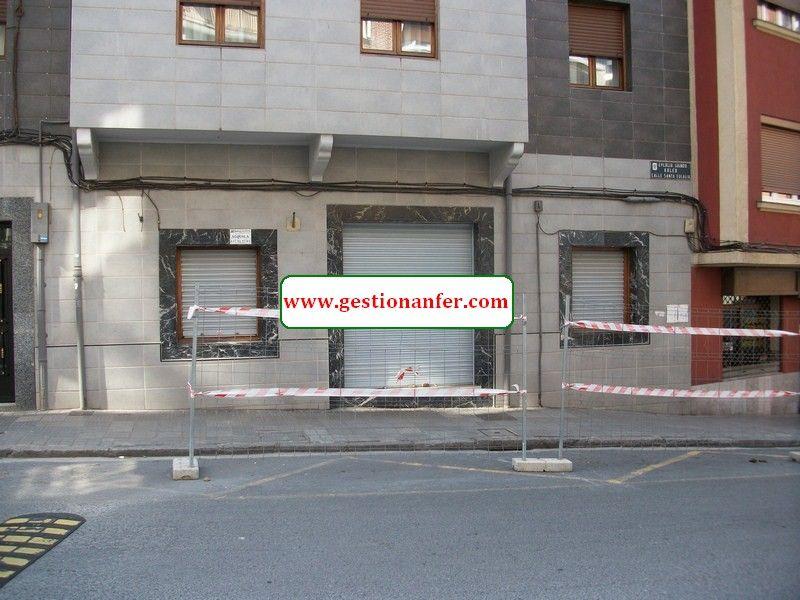 Local comercial en Santurtzi, Santa Eulalia, alquiler